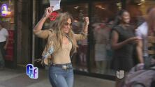 Jennifer López paseó por las calles de Nueva York bailando y luciendo tremendo cuerpazo