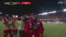 ¡Arruinan el festejo de Qatar! Rolando Blackburn pone el empate 1-1