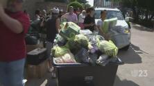 Organización en Dallas recibe donativos para damnificados por el huracán Harvey