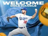 Dodgers va en serio con la firma del veterano pitcher Cole Hamels