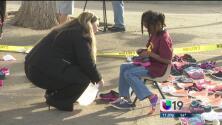 Donan zapatos a estudiantes de bajos recursos