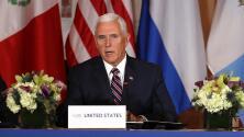 Pence pide a líderes de países centroamericanos que sus ciudadanos no entren a EEUU ilegalmente