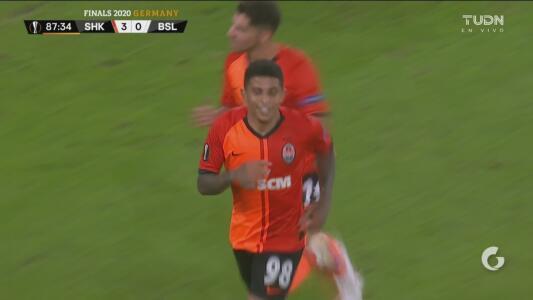 ¡Ya paren la goleada! Shakhtar no tiene compasión del Basel, le anota el 4-0 y espera por el Inter