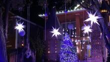 Esta casa se transforma en una película para celebrar 'la magia de la Navidad'