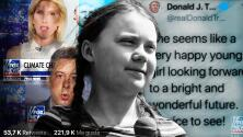 Con 16 años, Greta Thunberg da una lección a los adultos que la atacaron en redes y TV