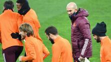 Zidane dio descanso a titulares previo al Derbi Madrileño