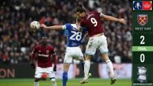 ¡Volvieron las lesiones! West Ham venció al Birmingham sin Chicharito