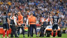 Celso Ortiz, baja de Rayados por los próximos tres partidos