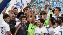Raúl le da al Real Madrid su primera Champions League juvenil