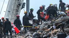 """""""No vamos a parar de trabajar"""": así avanza la búsqueda de sobrevivientes en la zona del edificio colapsado en Surfside"""