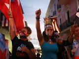 """""""Por la corrupción, por los que murieron en el huracán"""": Puerto Rico grita su hastío al gobierno de Rosselló"""