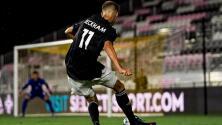 Debut profesional de Romeo, hijo de David Beckham en Miami