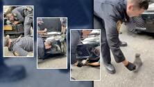 """""""Gracias por ayudar a ese bebé"""": Policía de Nueva York rescata a un gatito del motor de un carro"""