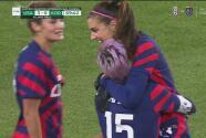 ¡Golazo de Team USA! Rapinoe asiste de tres dedos y Morgan firma el 3-0