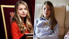 La princesa Leonor no pudo acompañar a la infanta Sofía y acudió por primera vez a un acto sin su hermana