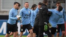 ¿Cabecita titular? Suárez y Cavani, ausentes en Uruguay