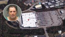 Capturan a hombre acusado de agredir a una niña de 11 años en un Walmart de Wake Forest
