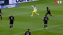 Darlington Nagbe roba el balón, corre como Usain Bolt y Pedro Santos sella el segundo