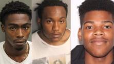 Arrestan a tres jóvenes que sorprendieron con lluvia de disparos a dos oficiales en una calle de Orlando
