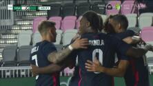 Goles | Team USA vapuleó 6-0 a El Salvador en Miami