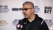 Joel Díaz ve fuerte y concentrado a Diego De la Hoya