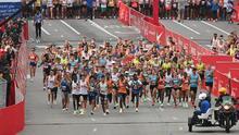 Con cerca de 33,000 corredores, Chicago volvió a disfrutar de su tradicional maratón