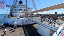 Consideran hundir el icónico barco Queen Mary en Long Beach