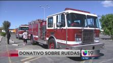Donan dos camiones de bomberos a Sonora