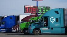 Se necesitan 80,000 conductores de camiones en EEUU para arreglar el problema con la cadena de suministro