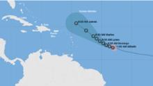 Sam se convierte en huracán de categoría 3 con vientos de 120 millas por hora: sigue aquí su trayectoria