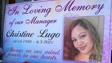 """""""Esto no tenía que pasar"""": familia de Christine Lugo, la madre hispana asesinada en un robo comercial, pide justicia"""