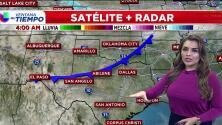 'Dallas en un Minuto': fresco y ventoso, el pronóstico del tiempo para este jueves