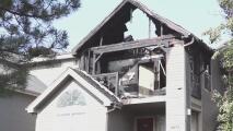 Investigan persona de interés por incendio que dejó a 50 personas sin hogar en Murray