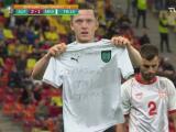 Gregoritsch anota el 2-1 para Austria y el gol 700 en la Eurocopa