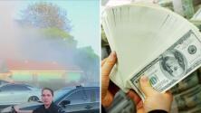 Autorizan $5 millones para reparar daños que dejó explosión de fuegos artificiales en el sur de Los Ángeles