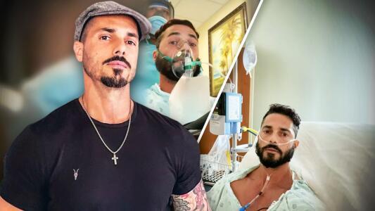 """El actor Jorge Alberti narra su experiencia """"al borde de la muerte"""" tras contraer la variante Delta"""