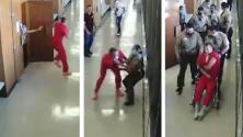 Preso intenta escapar de la sala del tribunal en Fresno