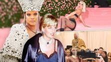 Una princesa divorciada, una famosa en lencería y otros momentos inolvidables en la historia de la Met Gala
