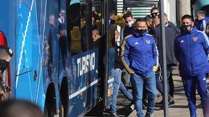 Jugadores de Boca Juniors varados en Brasil tras trifulca