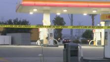 Policía busca al sospechoso de dispararle a un hombre en la cabeza en una gasolinera