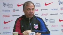 """Bruce Arena sobre el empate del Team USA: """"Estamos tratando de unir al equipo"""""""