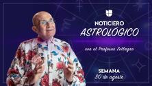 Noticiero astrológico: semana de 30 de agosto al 5 de septiembre
