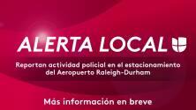 Cierran estacionamiento del Aeropuerto RDU por una emergencia