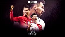 El Mejor Jugador del año será Cristiano, Messi o Lewandowski