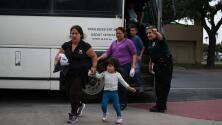 Se incrementa la liberación de familias inmigrantes procesadas por la Patrulla Fronteriza en Texas