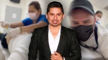 """""""Qué nalgones tengo"""": Larry Hernández se inyecta y cree que la enfermera se echa 'taco de ojo'"""