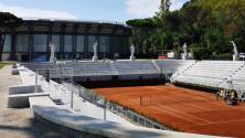 El Masters 1000 de Roma no tendrá fanáticos