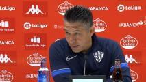 """Ambriz sobre el momento del Huesca: """"Estamos jodidos"""""""