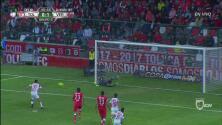 """Ahora """"El Tibu"""" se perdió el 2-0 tras fallar un penal"""