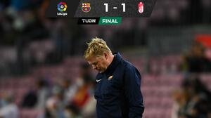 ¡¿Adiós Koeman?! Barcelona rescata un empate ante Granada